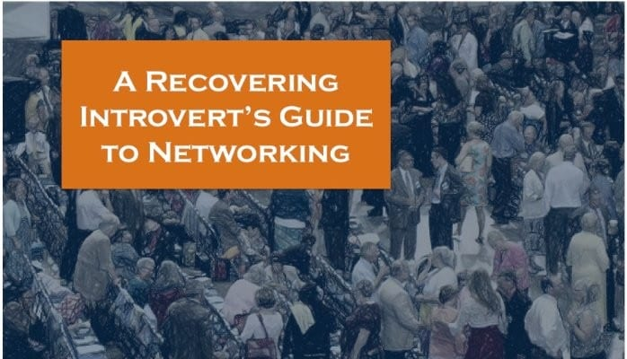 VETS2INDUSTRY | A group of people with text overlay - A recovering introvert's guide to networking